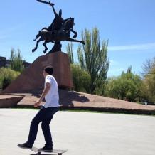 スケーターはアルメニアにも^^